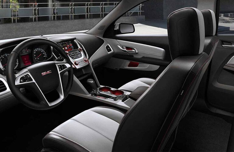 2017 GMC Terrain First row touchscreen