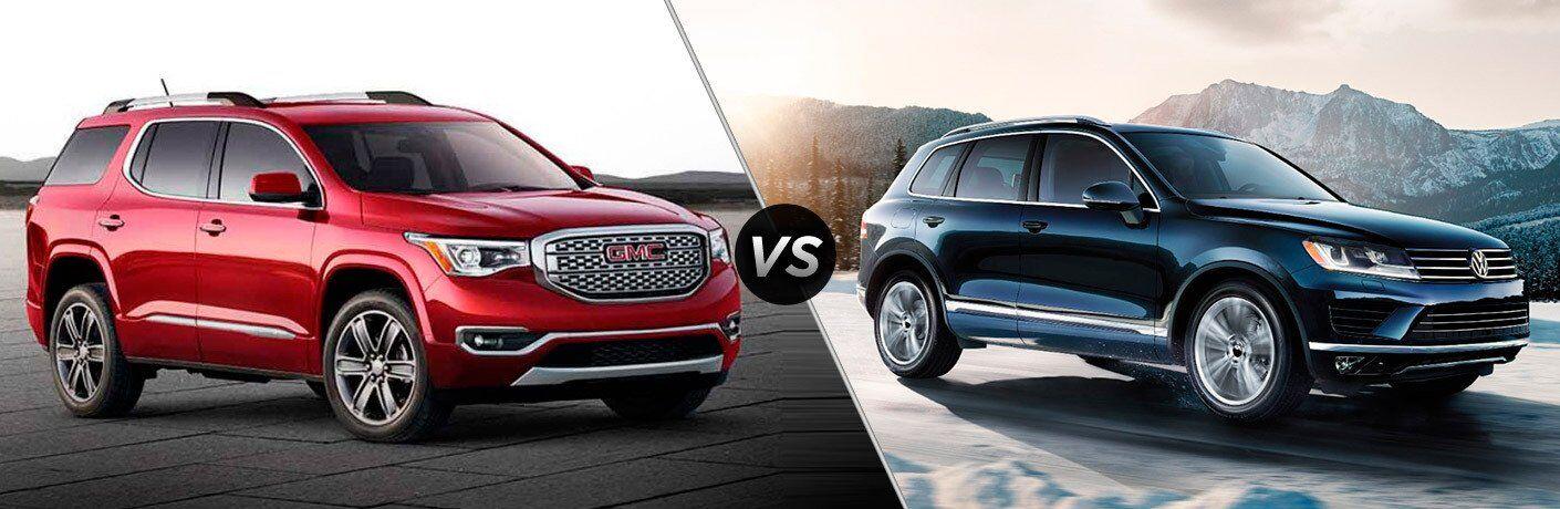 2017 GMC Acadia vs 2017 Volkswagen Touareg