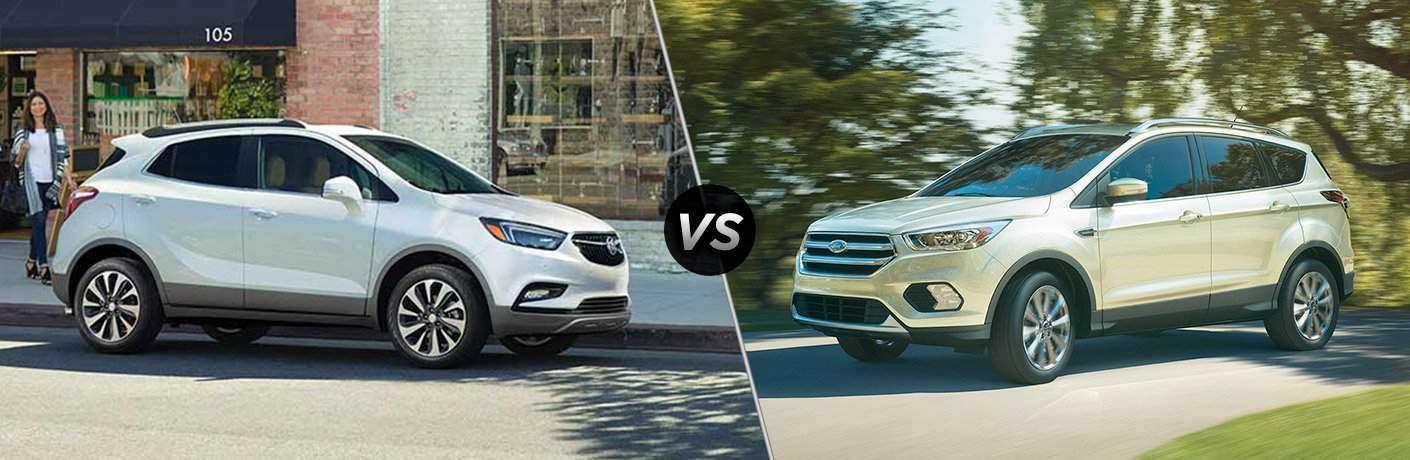 2017 Buick Encore vs 2017 Ford Escape