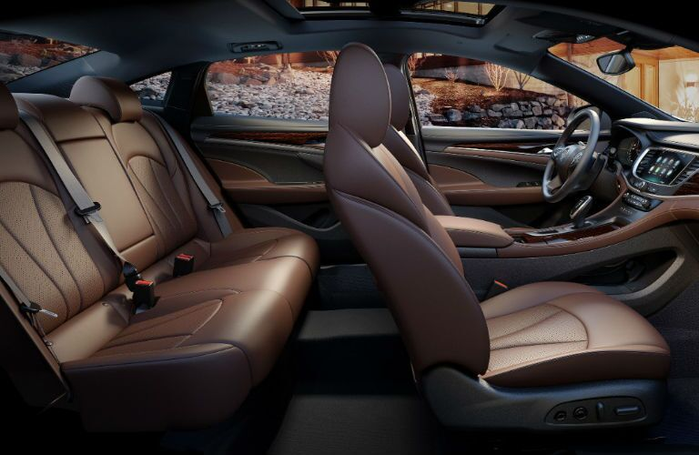 2017 Buick LaCrosse Dark Brown Interior