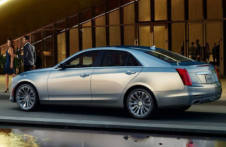 side view of used Cadillac CTS