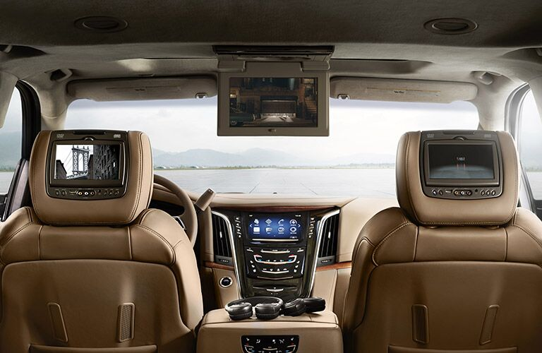 2017 Cadillac Escalade Rear Seat Entertainment