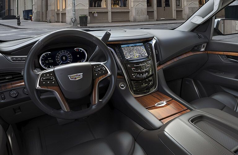 2017 Cadillac Escalade Wood Accents Interior