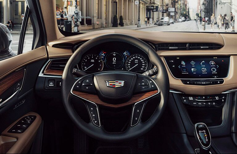 2017 Cadillac XT5 Front Row Touch Screen