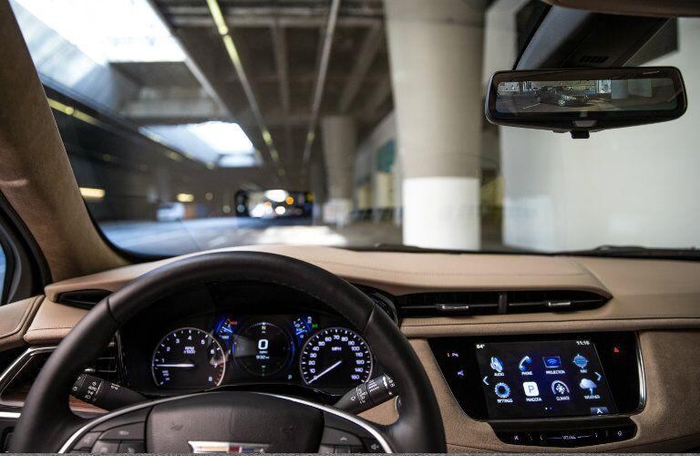 2017 Cadillac XT5 first row LCD screen