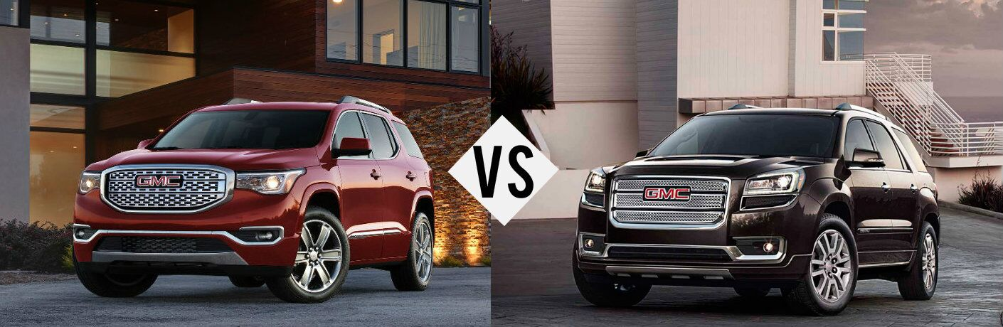 2017 gmc acadia vs 2016 gmc acadia. Black Bedroom Furniture Sets. Home Design Ideas