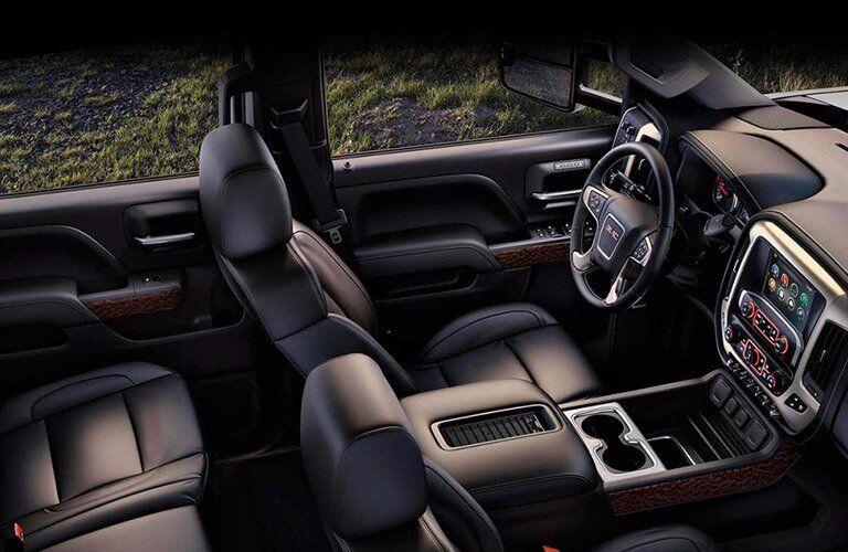 2017 GMC Sierra 2500HD passenger space