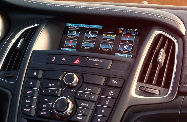 2017 Buick Cascada touchscreen navigation