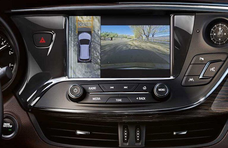 2017 Buick Envision Touchscreen Rearview Camera