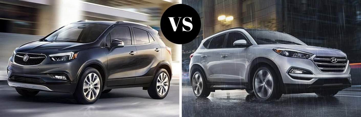 2017 Buick Encore vs 2017 Hyundai Tucson