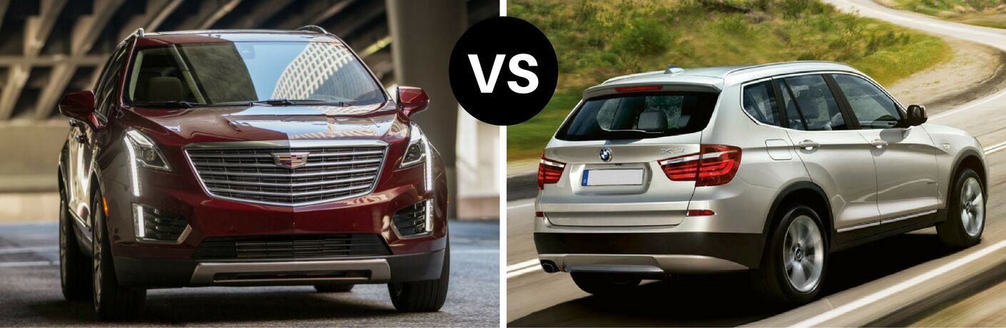2017 Cadillac XT5 vs 2017 BMW X3
