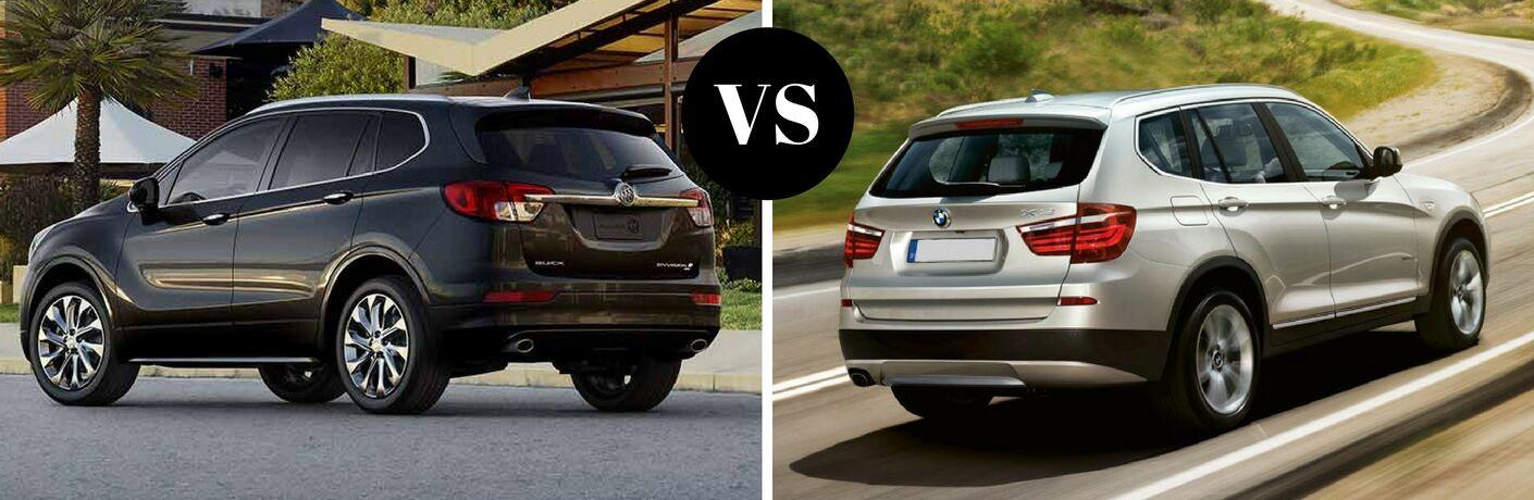 2017 Buick Envision vs 2017 BMW X3