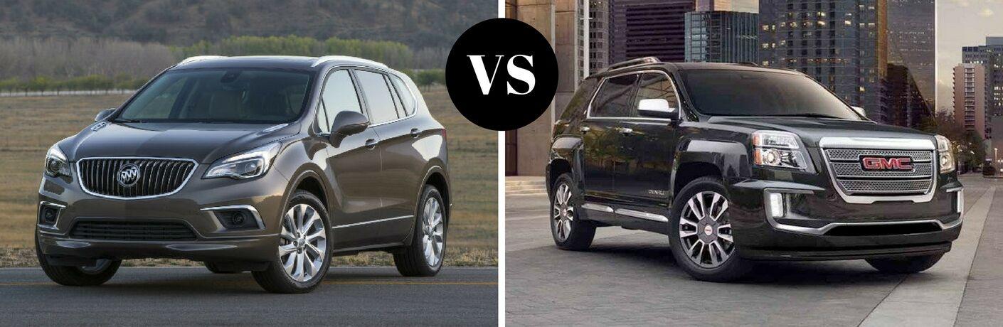 2017 Buick Envision vs 2017 GMC Terrain