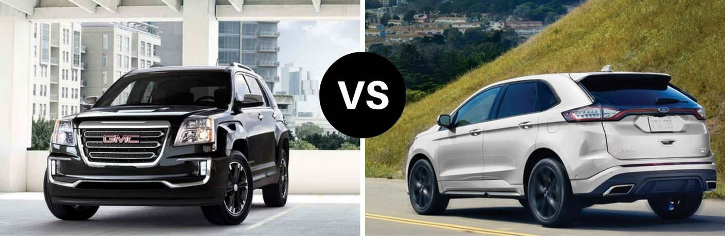 2017 GMC Terrain vs 2017 Ford Edge