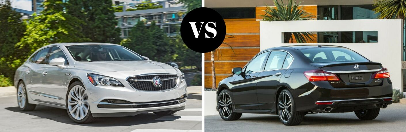 2017 Buick LaCrosse vs 2017 Honda Accord