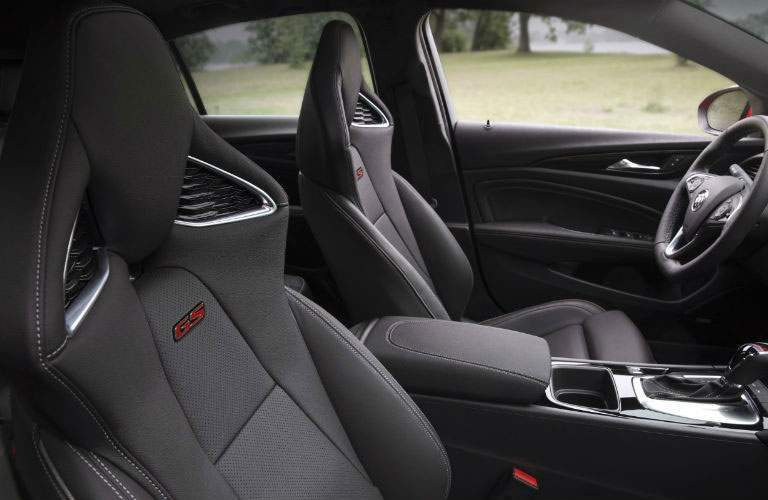 Front seats of 2018 Buick Regal GS