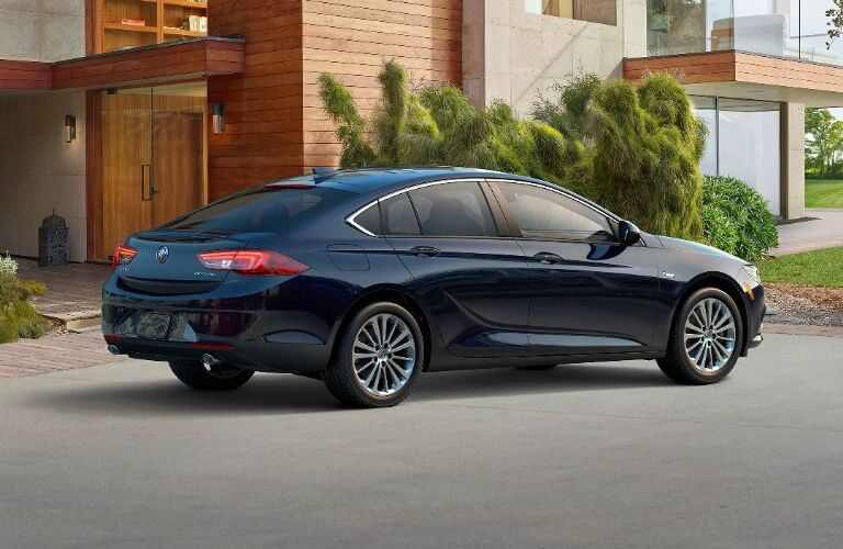2018 Buick Regal Sportback Rear Cargo Opening