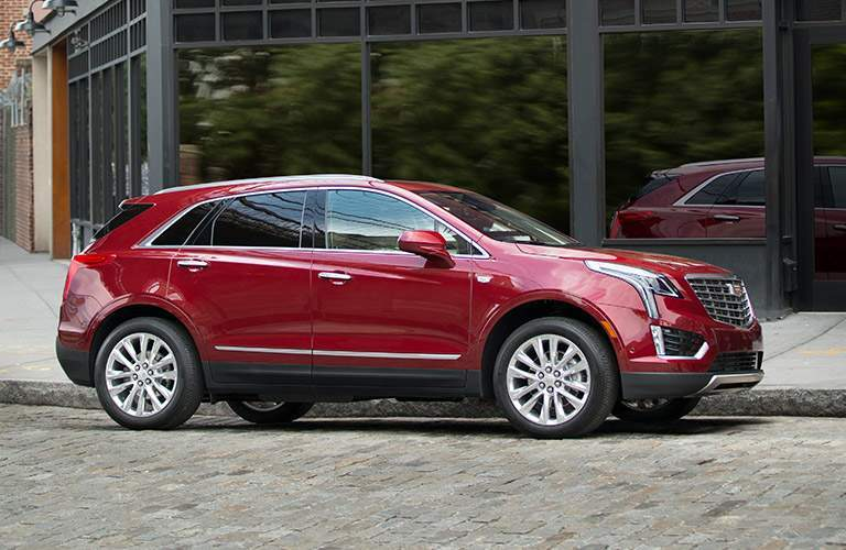 2018 Cadillac XT5 parked on a street