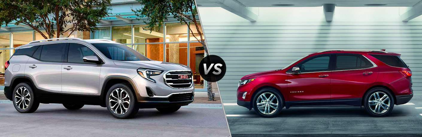 2018 GMC Terrain vs 2018 Chevrolet Equinox