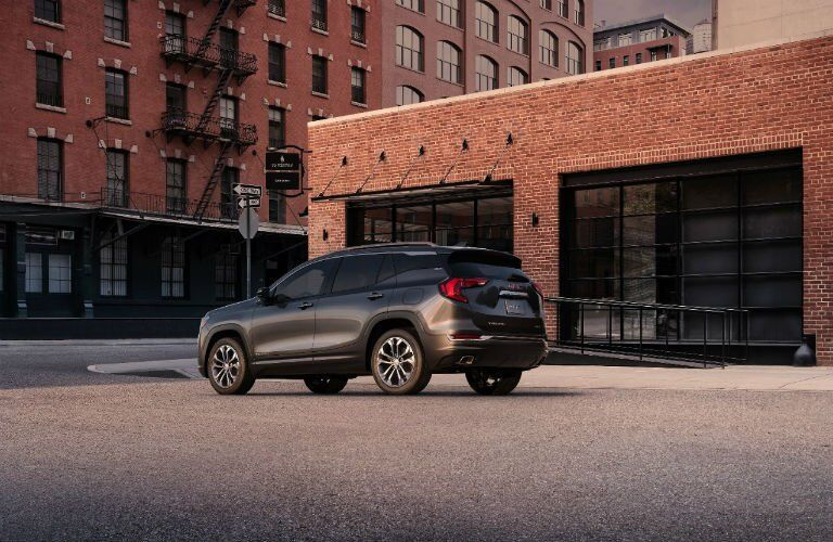 2018 GMC Terrain windows