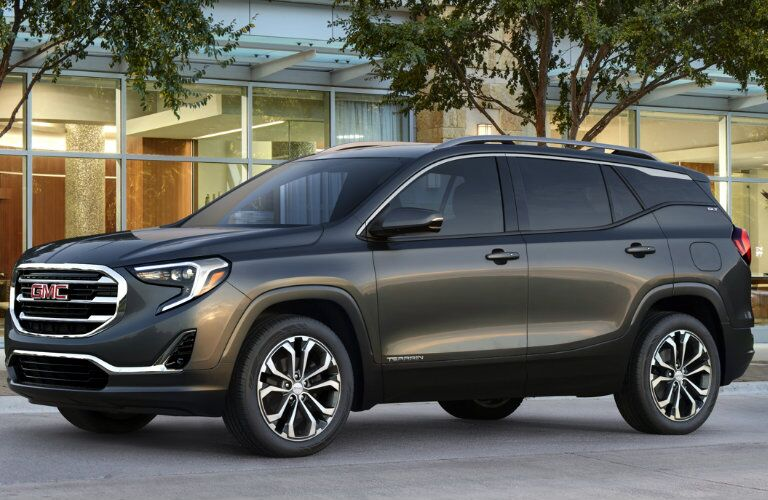 2018 GMC Terrain Exterior Color Options