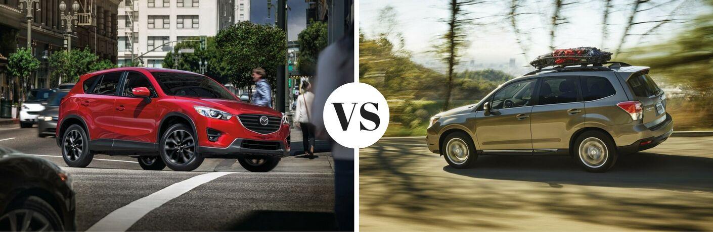 2016 Mazda CX-5 vs 2017 Subaru Forester