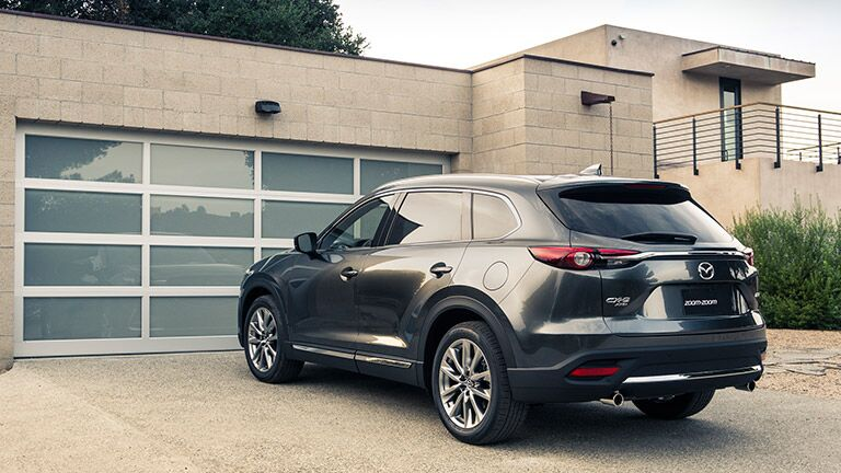 2016 Mazda CX-9 side rear exterior