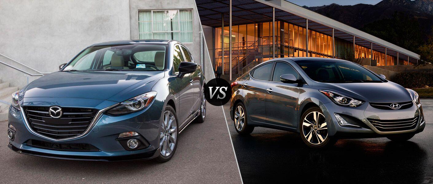 2016 Mazda3 vs 2016 Hyundai Elantra