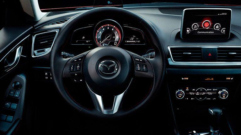 2016 Mazda3 interior driver dash
