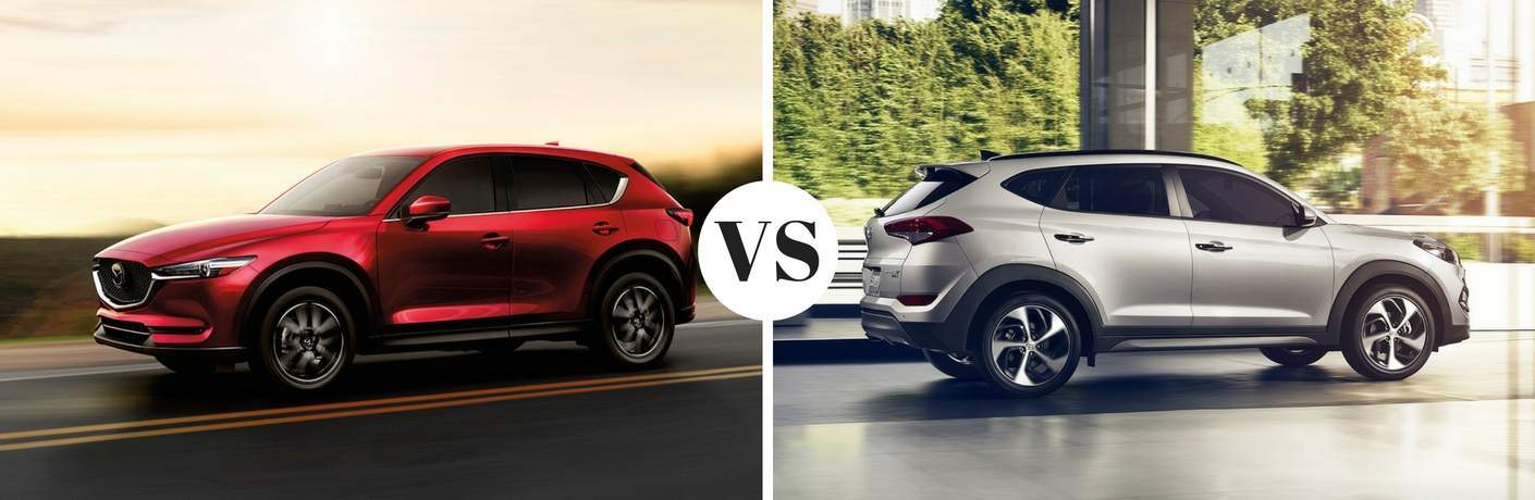 2017 Mazda CX-5 vs 2017 Hyundai Tucson