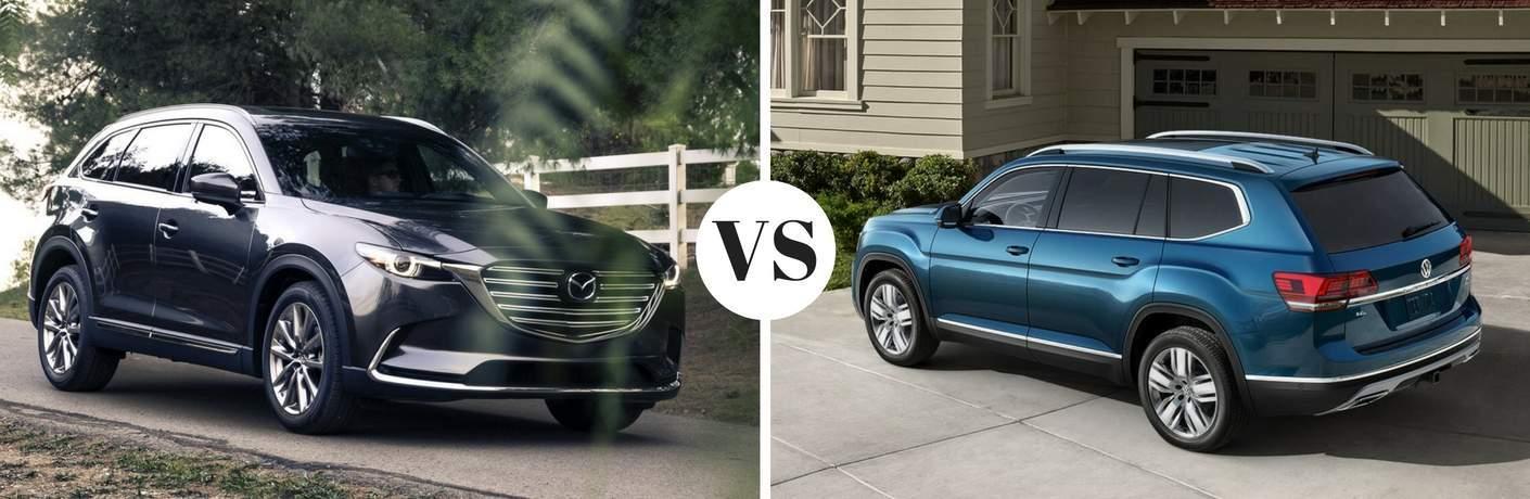 2017 Mazda CX-9 vs 2018 Volkswagen Atlas