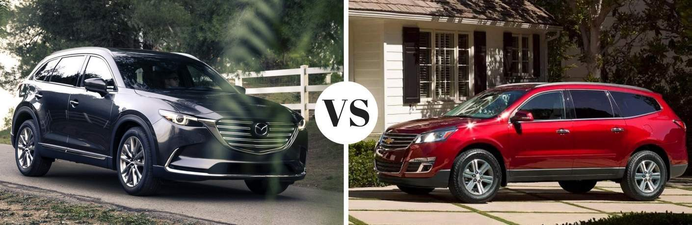 2017 Mazda CX-9 vs 2017 Chevy Traverse