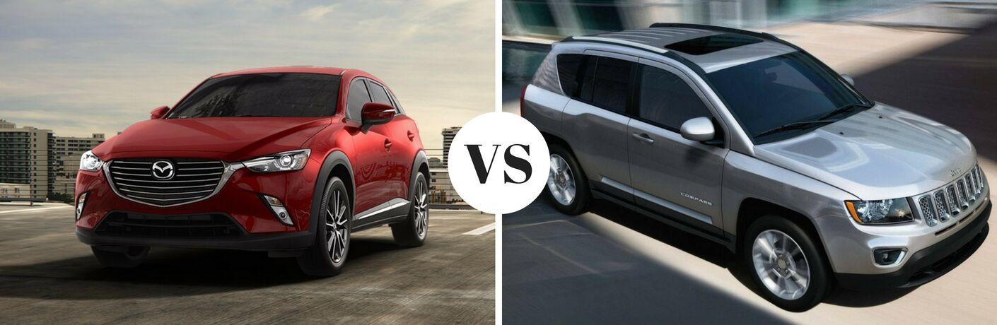 2017 Mazda CX-3 vs 2017 Jeep Compass