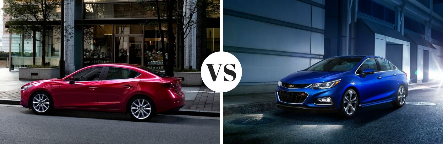2017 Mazda3 vs 2017 Chevy Cruze