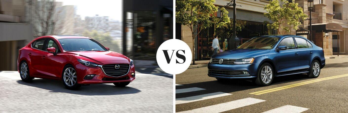 2017 Mazda3 vs 2017 Volkswagen Jetta