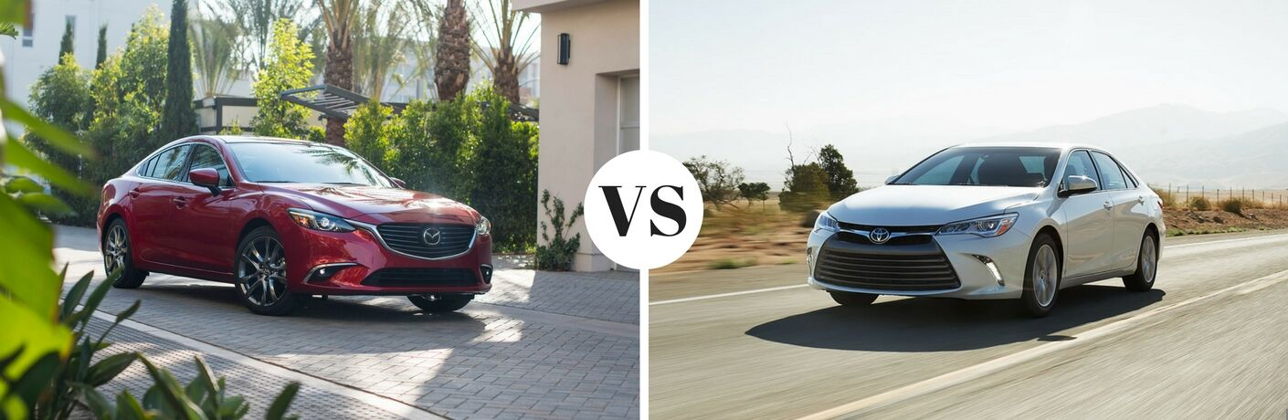 2017 Mazda6 vs 2017 Toyota Camry