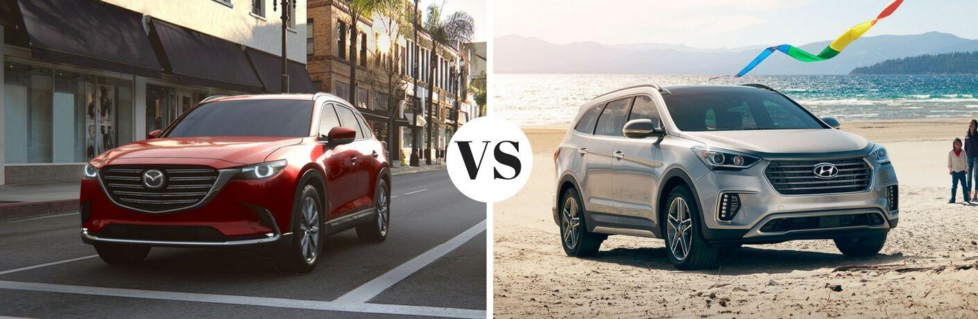 2017 Mazda CX-9 vs 2017 Hyundai Santa Fe