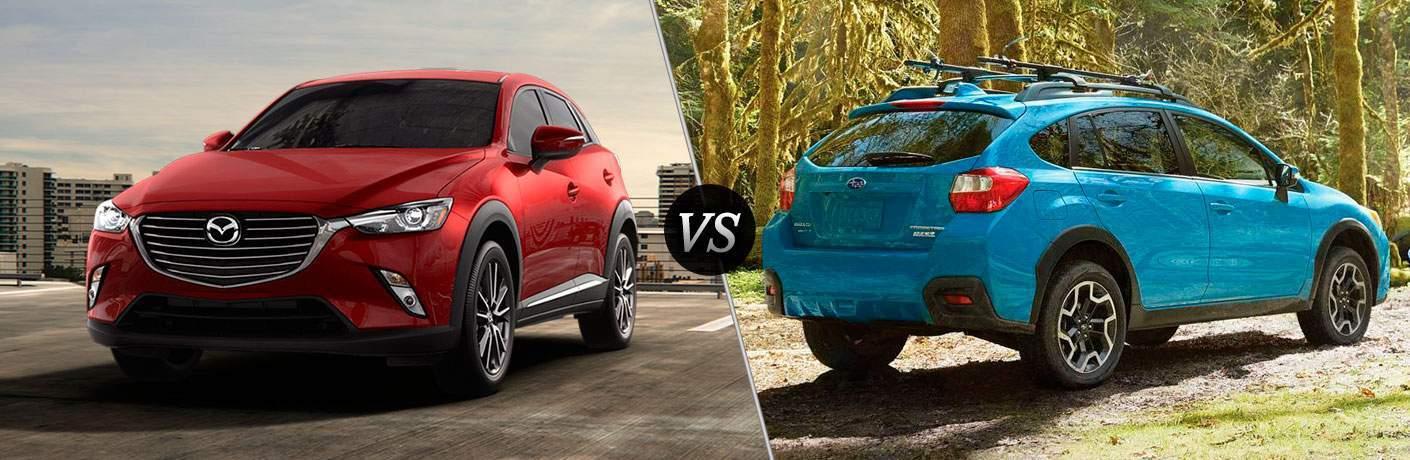 2018 Mazda CX-3 vs 2018 Subaru Crosstrek