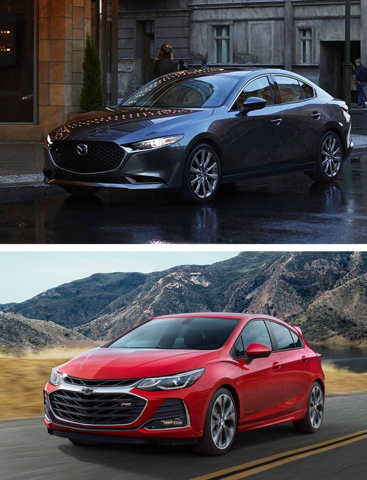2019 Mazda 3 vs. 2019 Chevy Cruze