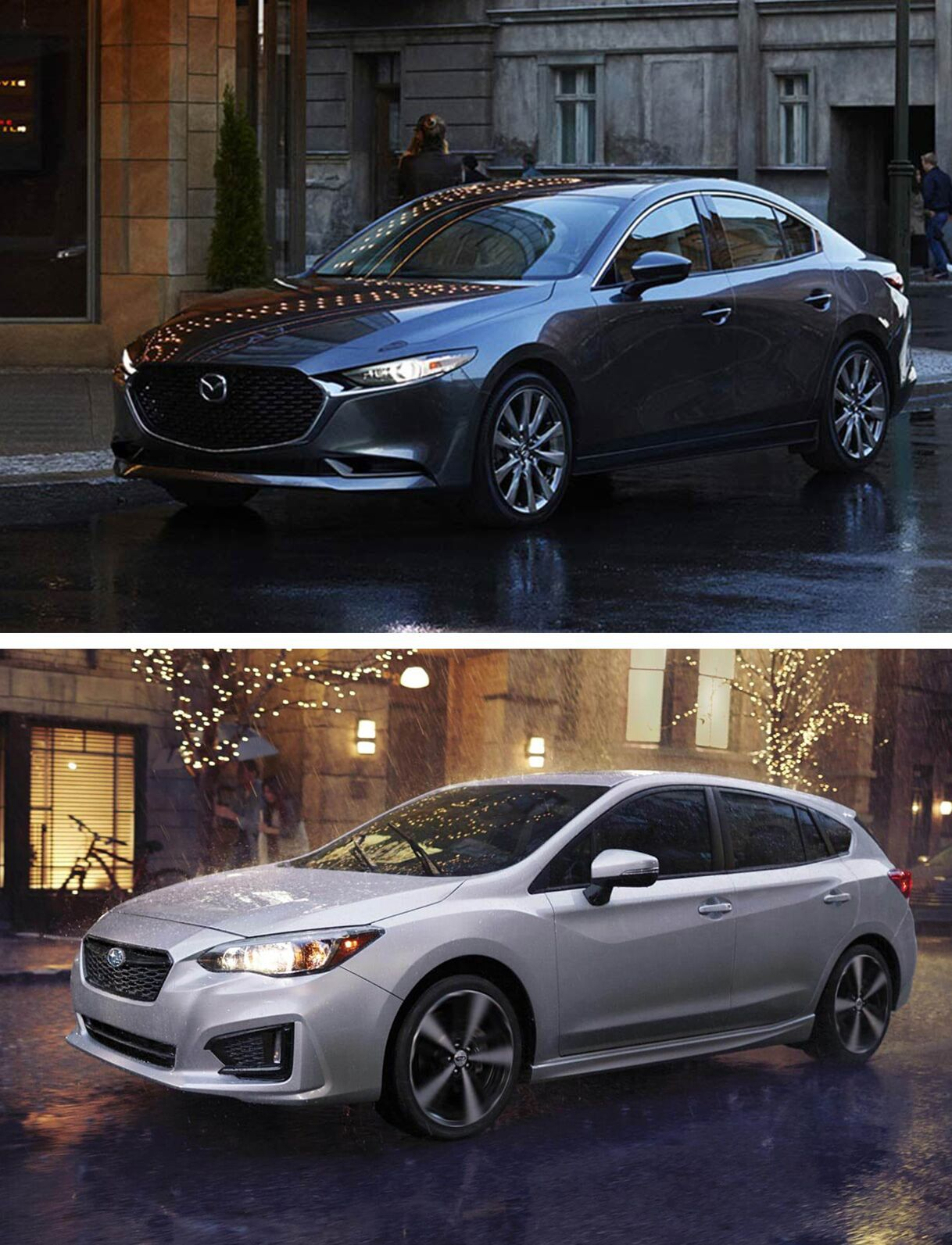 2019 Mazda 3 AWD Sedan vs. 2019 Subaru Impreza Sedan