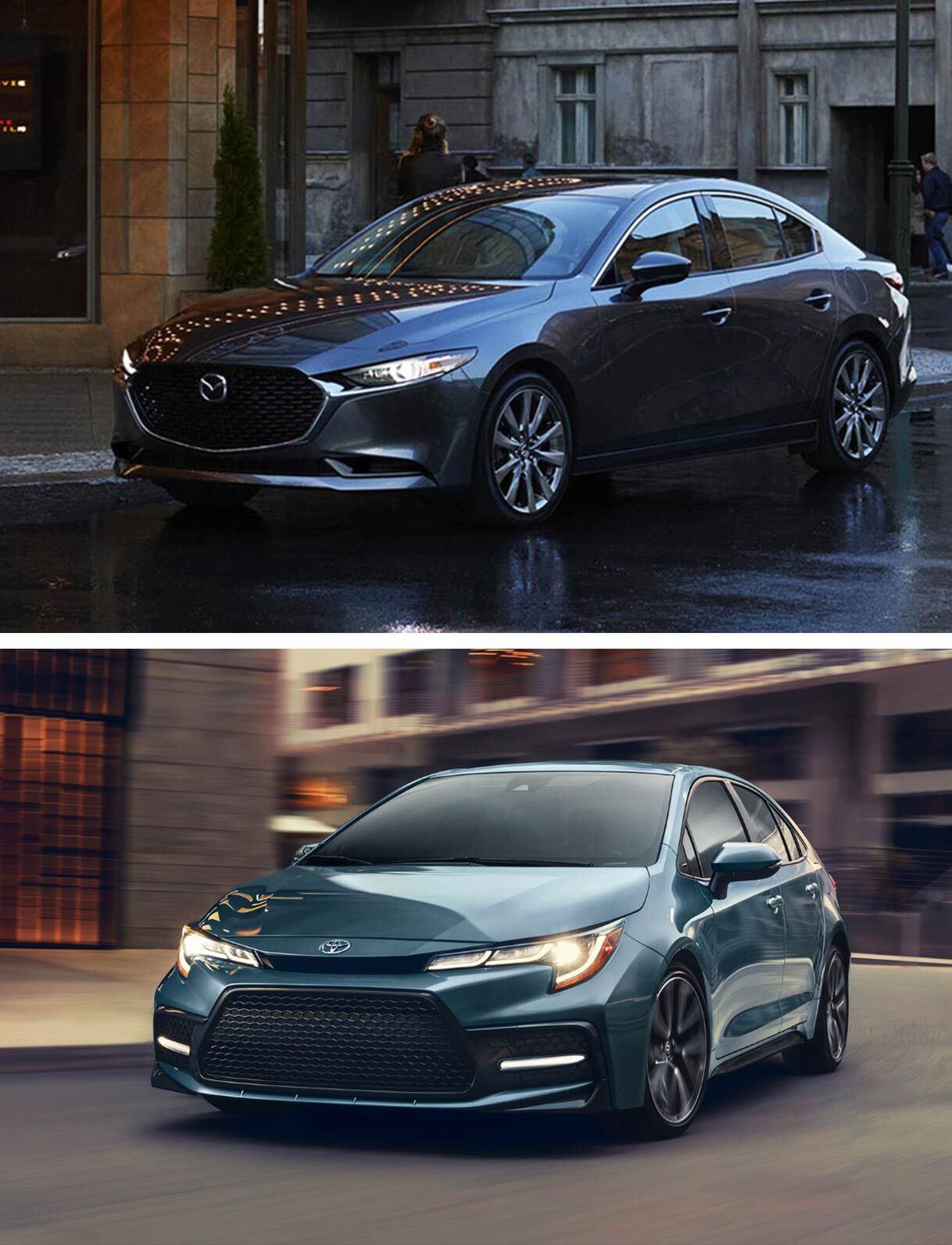 2019 Mazda 3 vs. 2019 Toyota Corolla