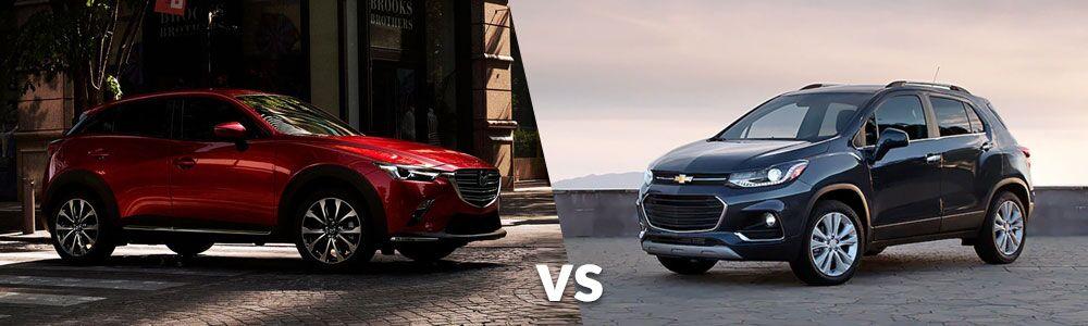 2019 Mazda CX-3 vs. 2019 Chevrolet Trax