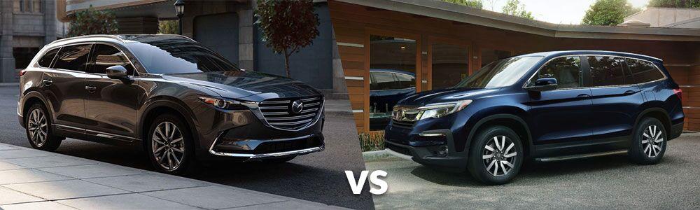 2019 Mazda CX-9 vs. 2019 Honda Pilot