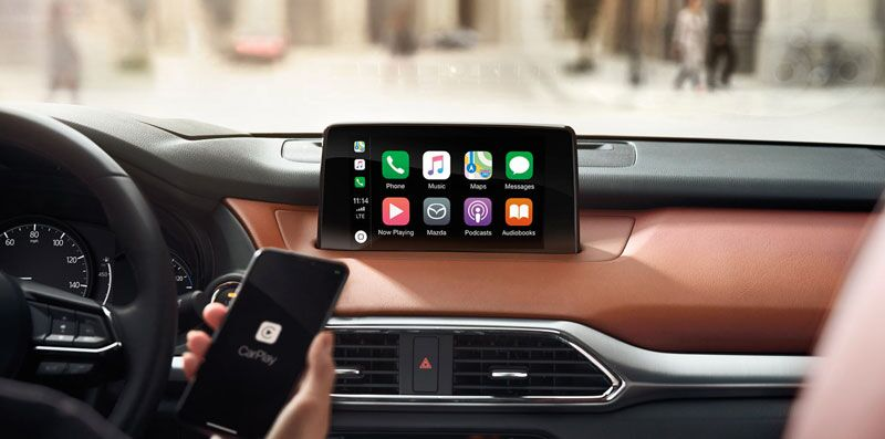 Mazda CX-9 with CarPlay