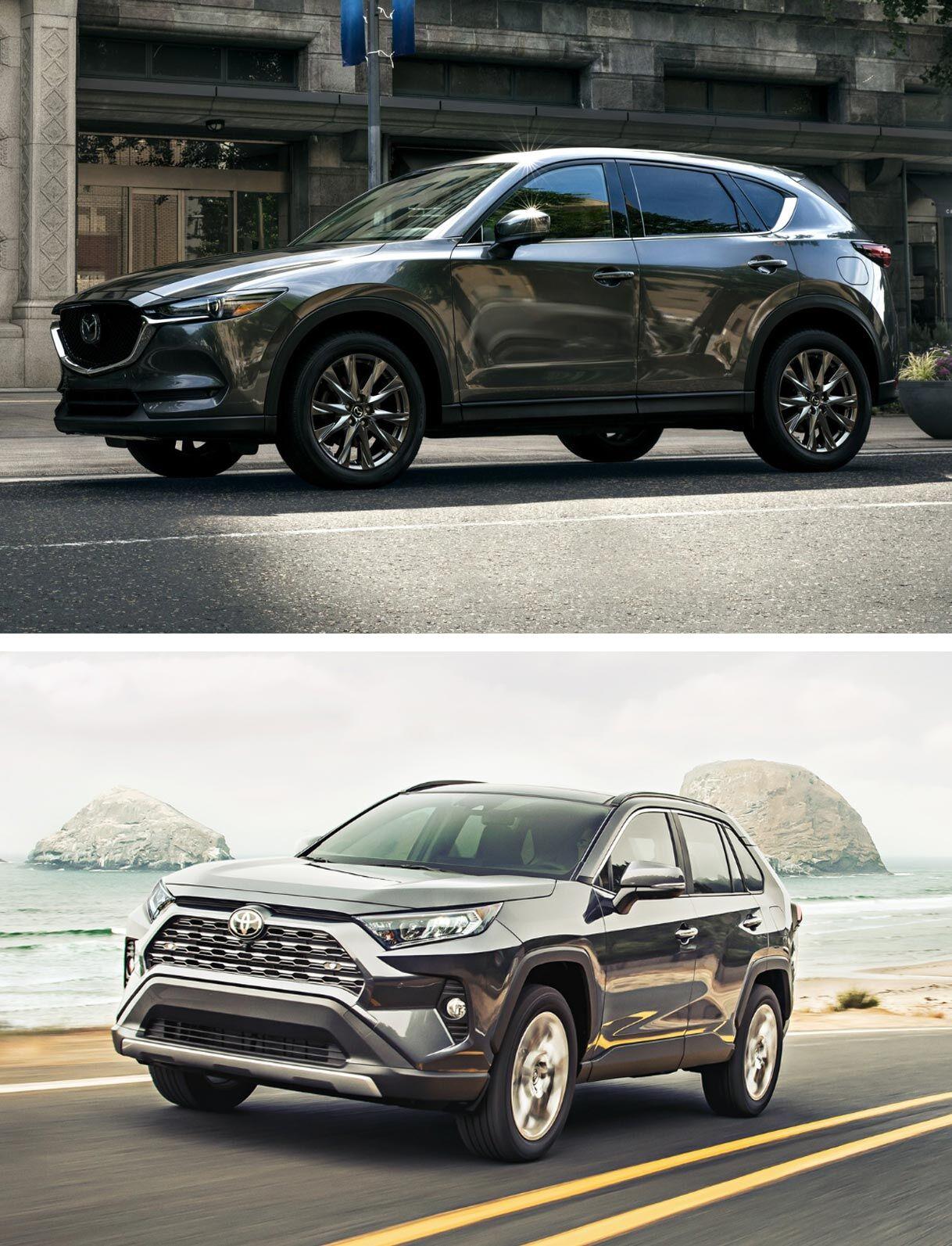 2019 Mazda CX-5 Signature vs. 2019 Toyota RAV4 Limited