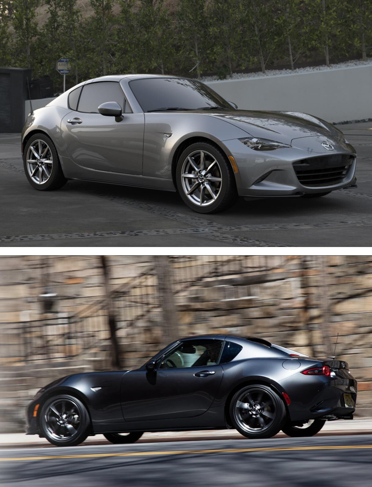 2019 Mazda MX-5 Miata & Miata RF Trim Comparison