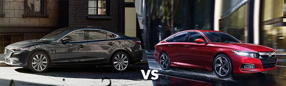 2020 Mazda6 vs. 2020 Honda Accord