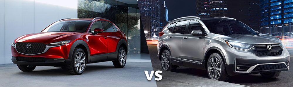2020 Mazda CX-30 vs. 2020 Honda HR-V