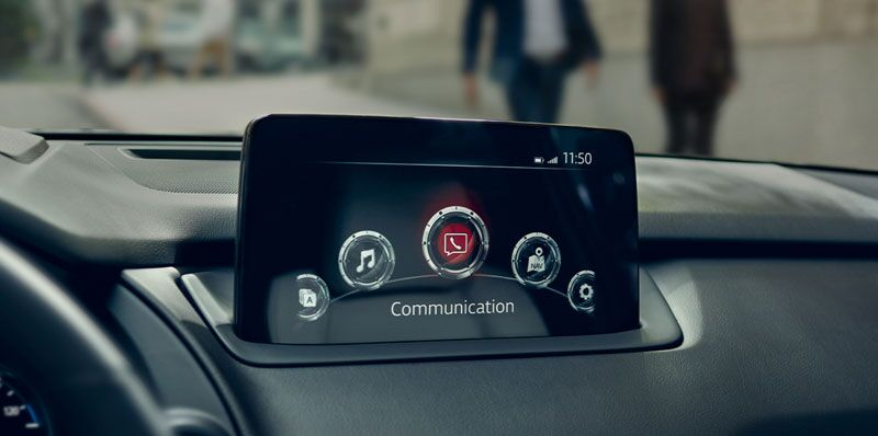 Mazda CX-9 with CarPlay