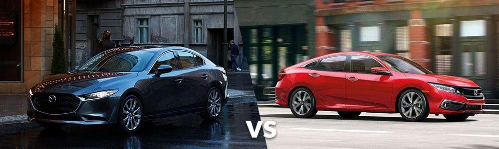 2020 Mazda3 vs. 2020 Honda Civic